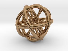 The Sphere in Polished Brass