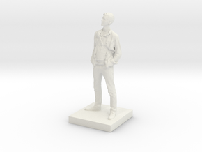 Printle C Homme 015 - 1/32 in White Strong & Flexible