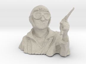 pilot bust ww1 1/10 in Natural Sandstone
