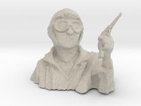 pilot bust ww1 1/10 in Sandstone