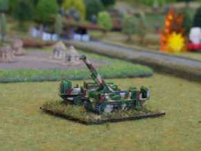 French 194mm GPF on St. Chamond 1/285 6mm in Smooth Fine Detail Plastic