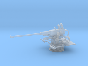 1/160 USN 40mm Single Bofors in Smooth Fine Detail Plastic