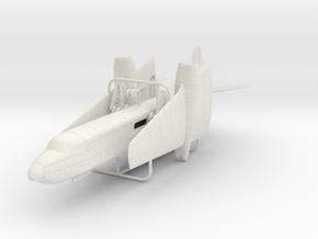 1/200 Short Sperrin in White Natural Versatile Plastic