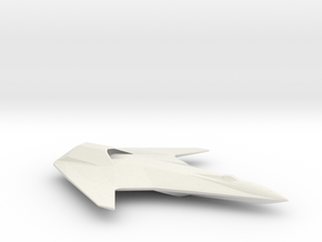 Corsair-Class Fighter in White Natural Versatile Plastic