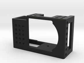 VDesigns Camera Cage Basic for Sony Alpha 5000 in Black Natural Versatile Plastic