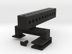 VDesigns Pro Grip in Black Natural Versatile Plastic