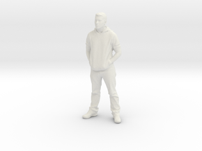 Printle C Homme 610 - 1/32 - wob in White Natural Versatile Plastic