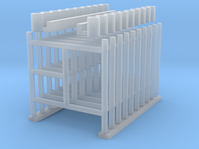 'N Scale' - (10) 5'x5' Scaffolding in Smooth Fine Detail Plastic