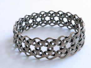 Bracelet V Large  in Stainless Steel