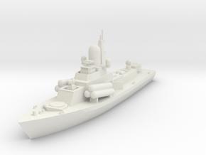 1/700 or 1/350 Soviet Nanuchka Missile Corvette  in White Strong & Flexible: 1:350
