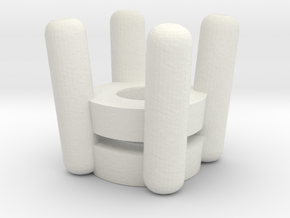 Model-2ba713978cfcd219328e691daf42d64a in White Strong & Flexible
