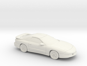1/87 1996 Pontiac Trans Am in White Natural Versatile Plastic
