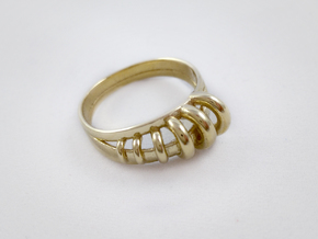 Ring of Rings in Polished Brass: 8 / 56.75