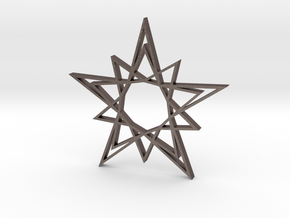 Arabesque: Solar Star in Stainless Steel