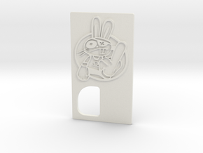TLF# - Shabby Bunny - Door in White Strong & Flexible