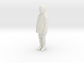 Printle C Kid 160 - 1/32 - wob in White Natural Versatile Plastic