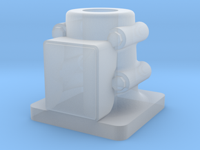 Base Plate Stand in Smooth Fine Detail Plastic