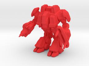 1/144 Terran SCV in Red Processed Versatile Plastic