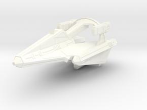 Thorlian K7 Battleship in White Processed Versatile Plastic
