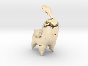Chikorita in 14k Gold Plated Brass