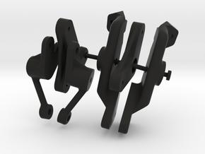 045024-00 AMPro Hornet Cantilever Suspension Parts in Black Natural Versatile Plastic