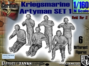 1-160 Kriegsmarine Artyman Set1 in Frosted Extreme Detail