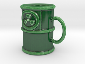 Weapons-Grade Espresso Mug in Gloss Oribe Green Porcelain