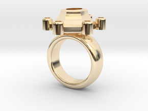 Ring Polaris in 14k Gold Plated: 5.5 / 50.25