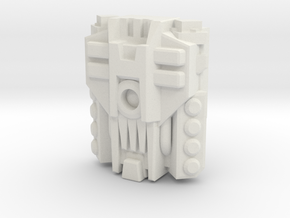 Mega PowerMaster Engine (Titans Return) in White Natural Versatile Plastic