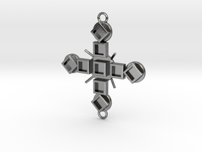 Pendant Luctor in Polished Silver