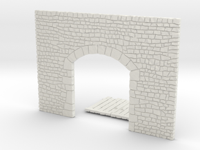 HOvVT02 - Troglodyte village in White Natural Versatile Plastic