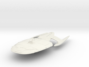 South York Class  Destroyer in White Natural Versatile Plastic