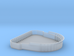 1/192 USN Bridge Tub in Smooth Fine Detail Plastic