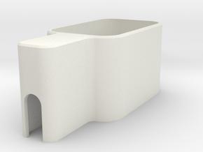 Travel Adapter Holder Samsung in White Natural Versatile Plastic