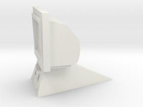Data Card Viewer Monitor (Star Trek Classic), 1/9 in White Natural Versatile Plastic