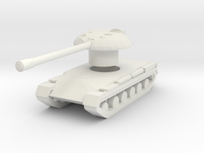Object 430 in White Natural Versatile Plastic