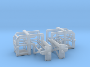 1/192 DC Loader Rack Set in Smooth Fine Detail Plastic