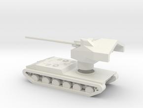 Waffenträger Auf E 100 in White Natural Versatile Plastic