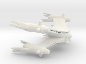 Starfury (Babylon 5), 1/270 in White Natural Versatile Plastic