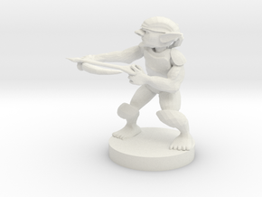 Goblin - Ranged in White Natural Versatile Plastic