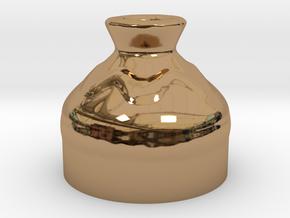 Medium Pot - Legend of Zelda Ocarina of Time in Polished Brass