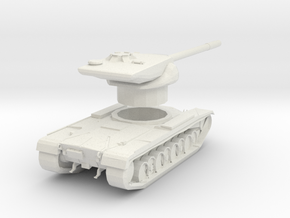 T57 tank in White Natural Versatile Plastic