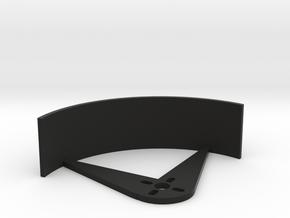 3in Prop Guard in Black Natural Versatile Plastic