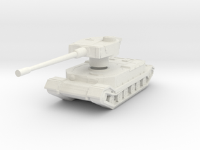Tiger (P) tank in White Natural Versatile Plastic