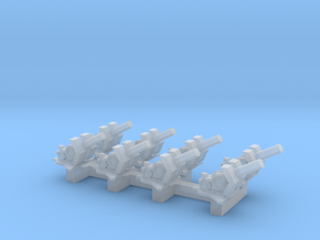 1/285 20mm Flak 38 in Smooth Fine Detail Plastic