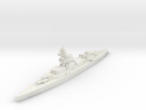 Blücher / Admiral Hipper Class in White Natural Versatile Plastic