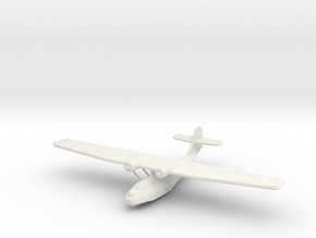 Catalina PBY-5a, 1:285 Scale in White Strong & Flexible