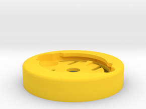 RecMount Garmin Socket Adapter in Yellow Processed Versatile Plastic