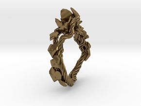Garden Ring in Natural Bronze: 6 / 51.5