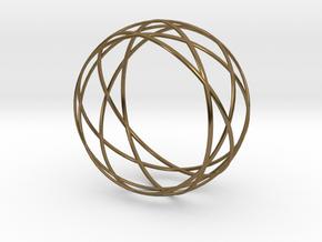 Wristband - Revo 58 in Polished Bronze